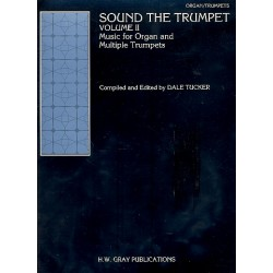 Sound the Trumpet vol.2 for 2-3 trumpets and organ parts