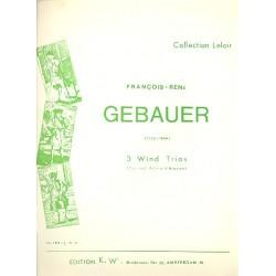 G├®bauer, Francois-R├®n├®: Trio F-Dur Nr.1 : f├╝r Klarinette, Horn und Fagott Stimmen