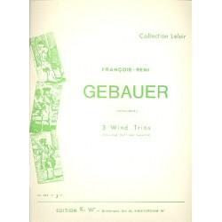 Gébauer, Francois-Réné: Trio c-Moll Nr.2 : für Klarinette, Horn und Fagott Stimmen
