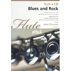 Polanuer, Jorge: Blues und Rock (+CD) : f├╝r Fl├Âte