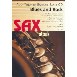 Polanuer, Jorge: Blues und Rock (+CD) : für Saxophon