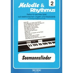 Seemannslieder : für E-Orgel/ Keyboard
