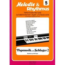 Popmusik und Schlager Band 2 : für E-Orgel / Keyboard