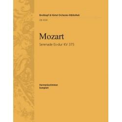 Mozart, Wolfgang Amadeus: SERENADE NR. 11 ES-DUR : FUER 2 OBOEN, 2 KLARINETTEN, 2 HOERNER UND 2 FAGOTTE, KV 375 8STIMMEN