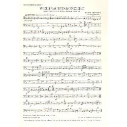 Vierdanck, Johann: Ich verkündige euch große Freude : Weihnachtskonzert für 2 Soprane und Bc 2 Violinen und Bc