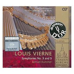 Vierne, Louis Victor Jules: Sinfonien Nr.3 op.28 und Nr.5 op.47 : CD
