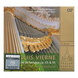 Vierne, Louis Victor Jules: Pièces de fantaisie Band 2 : CD