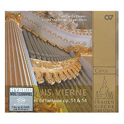 Vierne, Louis Victor Jules: Pièces de fantaisie Band 1 : CD
