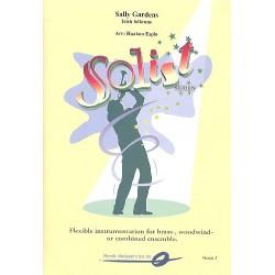 Sally Gardens : für Blasorchester Partitur und Stimmen