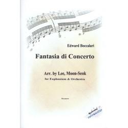 Boccalari, Edward: Fantasia di concerto : für Euphonium und Orchester Partitur und Stimmen (Streicher 6-5-4-3-2)