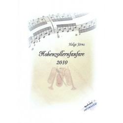 J├Ârns, Helge: Hohenzollern-Fanfare : f├╝r 3 Trompeten, 3 Posaunen, Tuba, Pauke und kleine Trommel Partitur und Stimmen