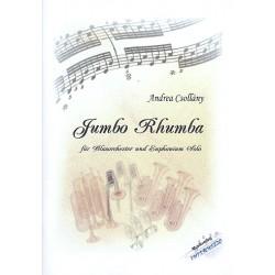 Csollány, Andrea: Jumbo Rhumba : für Euphonium und Blasorchester Partitur und Stimmen