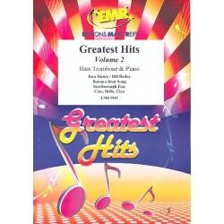 Greatest Hits Band 2 : für Bassposaune und Klavier (Percussion ad lib)