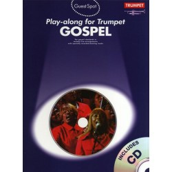 Gospel (+CD) : for trumpet Guest Spot Playalong