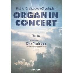 Smetana, Bedrich: Die Moldau : Thema für elektronische Orgel Organ in concert 15