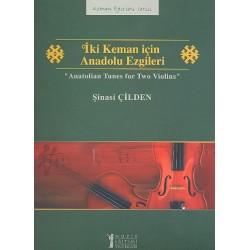 Anatolian Tunes : for 2 violins score