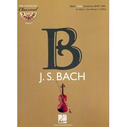 Bach, Johann Sebastian: Konzert a-Moll BWV1041 für Violine und Orchester (+CD) : für Violine