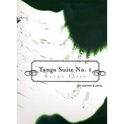 Piper, Hauke: Tango Suite Nr.1: für Klarinette und Klavier
