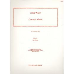 Ward, John: Consort Music for 5-6 viols parts
