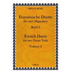 Franz├Âsische Duette Band 2 : f├╝r 2 Altgamben 2 Spielpartituren