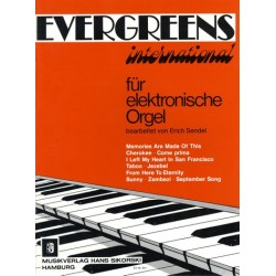 Evergreens international : f├╝r E-Orgel