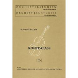 Orchesterstudien Band 4 : für Kontrabaß