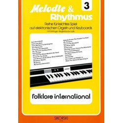 Folklore international : für E-Orgel / Keyboard