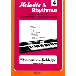 Popmusik und Schlager: für E-Orgel/Keyboard