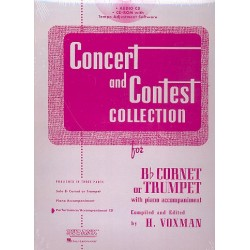 Concert and Contest Collection for Cornet (Trumpet) : CD/CD-ROM