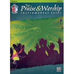 Top Praise & Worship (+CD) : for trombone