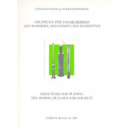 Steinkopf, Otto: Anleitung f├╝r das Musizieren auf Pommern, Dulcianen und Ranketten