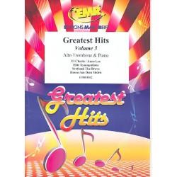 Greatest Hits Band 3 : für Altposaune und Klavier (Percussion ad lib)