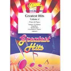 Greatest Hits Band 4 : für Flöte und Klavier (Percussion ad lib)