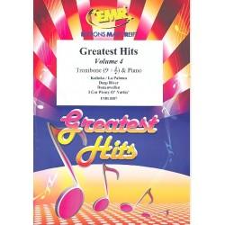 Greatest Hits Band 4 : für Posaune und Klavier (Percussion ad lib)