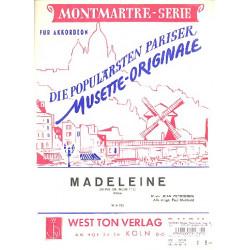 Peyronnin, Jean: Madeleine : f├╝r Akkordeon