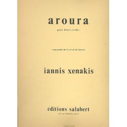 Xenakis, Yannis: Aroura pour 12 instruments à cordes (4-3-2-2-1) partition
