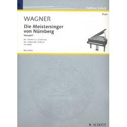 Wagner, Richard: Vospiel zu Die Meistersinger von Nürnberg : für 3 Klaviere zu 12 Händen Stimmen