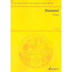 Hummel, Bertold: Poem op.80 für Violoncello und 13 Solo-Streicher Studienpartitur