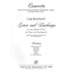 Boccherini, Luigi: Grave und Fandango : f├╝r Gitarre und Zupforchester Partitur