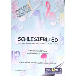 Schlesierlied: für Klavier/Gesang/Gitarre