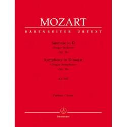 Mozart, Wolfgang Amadeus: Sinfonie D-Dur Nr.38 KV504 (Prager Sinfonie) für Orchester Partitur
