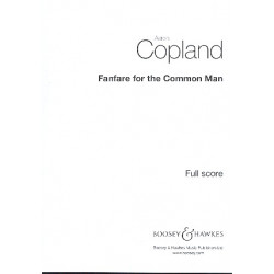 Copland, Aaron: Fanfare for the Common Man : for brass and percussion score