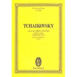 Tschaikowsky, Peter Iljitsch: Schwanensee op.20 : Suite f├╝r Orchester Studienpartitur