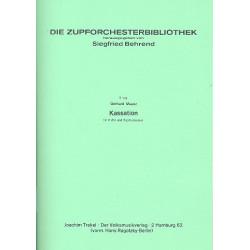 Maasz, Gerhard: Kassation für Flöte und Zupforchester Partitur