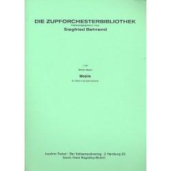 Braun, Günter: Mobile : für Oboe und Zupforchester Partitur