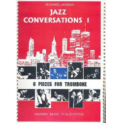 Jasinski, Richard: Jazz Conversations Band 1: für Posaune und Klavier