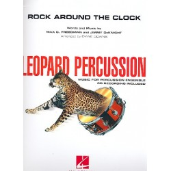 Freedman, Max C.: Rock around the Clock (+CD) : for percussion ensemble score and parts