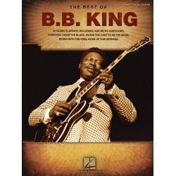 King, B.B. (Riley): The Best of B.B. King songbook piano/vocal/guitar