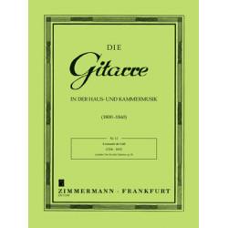 Call, Leonhard von: Leichtes Trio op.26 : für 3 Gitarren