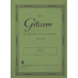 Gragnani, Filippo: Trio op.12 : für 3 Gitarren Stimmen